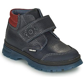 Zapatos Niño Botas de caña baja Pablosky 502923 Azul