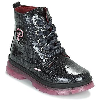 Zapatos Niña Botas de caña baja Pablosky 404157 Negro