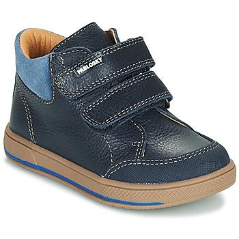 Zapatos Niño Botas de caña baja Pablosky 503723 Azul