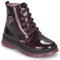 Zapatos Niña Botas de caña baja Pablosky 404099 Burdeo