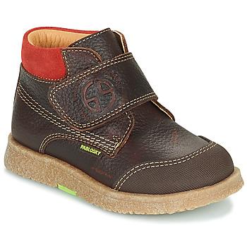 Zapatos Niño Botas de caña baja Pablosky 502593 Marrón