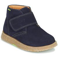 Zapatos Niño Botas de caña baja Pablosky 502228 Marino