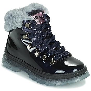 Zapatos Niña Botas de caña baja Pablosky 404429 Marino