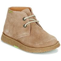 Zapatos Niño Botas de caña baja Pablosky 502148 Camel