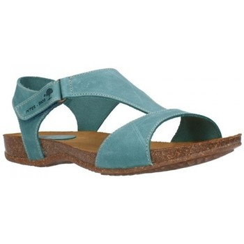 Zapatos Mujer Sandalias Interbios 4420 crazy jeans Mujer Jeans bleu