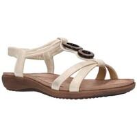 Zapatos Mujer Sandalias Amaspies AMARPIES ABZ17064 Mujer Platino Argenté