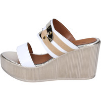 Zapatos Mujer Zuecos (Mules) Sara Collection BJ938 Blanco