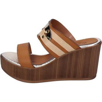 Zapatos Mujer Zuecos (Mules) Sara Collection BJ939 Marrón