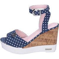 Zapatos Mujer Sandalias Lancetti BJ942 Azul