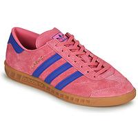 Zapatos Zapatillas bajas adidas Originals HAMBURG Rosa / Azul