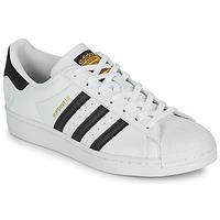 Zapatos Zapatillas bajas adidas Originals SUPERSTAR VEGAN Blanco / Negro