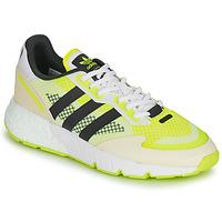 Zapatos Hombre Zapatillas bajas adidas Originals ZX 1K BOOST Blanco / Amarillo