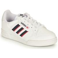 Zapatos Niños Zapatillas bajas adidas Originals CONTINENTAL 80 STRI C Blanco / Azul