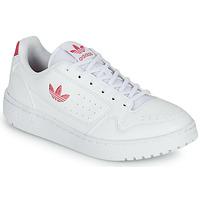 Zapatos Niña Zapatillas bajas adidas Originals NY 90 J Blanco