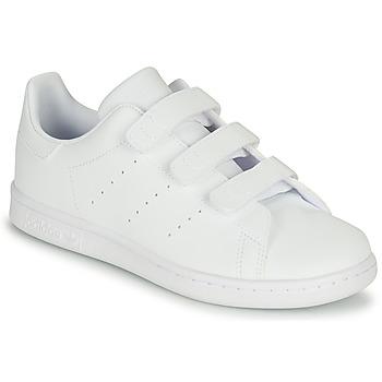 Zapatos Niños Zapatillas bajas adidas Originals STAN SMITH CF C Blanco
