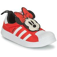 Zapatos Niña Zapatillas bajas adidas Originals SUPERSTAR 360 C Rojo / Minnie