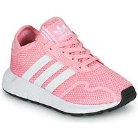 Zapatos Niña Zapatillas bajas adidas Originals SWIFT RUN X C Rosa