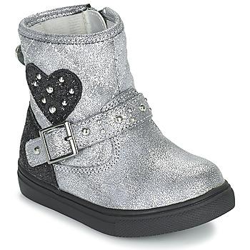 Zapatos Niña Botas de caña baja Primigi BABY LUX Plata
