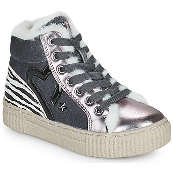 Zapatos Niña Zapatillas altas Primigi GIRL ALPHA Plata