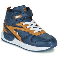 Zapatos Niño Zapatillas altas Primigi B&G MEGA Azul / Marrón