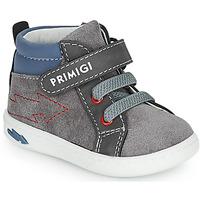 Zapatos Niño Zapatillas altas Primigi BABY LIKE Gris / Azul