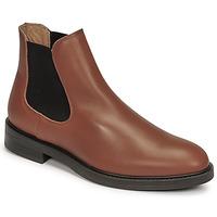 Zapatos Hombre Botas de caña baja Selected CHELSEA Cognac