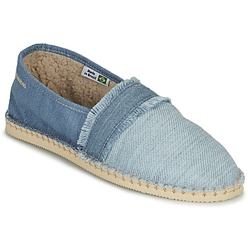 Zapatos Alpargatas Havaianas ESPADRILLE FUR Azul