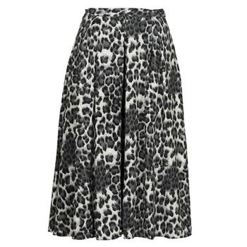 textil Mujer Faldas See U Soon 21232098 Negro / Blanco