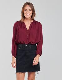 textil Mujer Tops / Blusas See U Soon 21211057 Burdeo