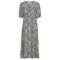 textil Mujer Vestidos largos See U Soon 21221123 Marino / Blanco