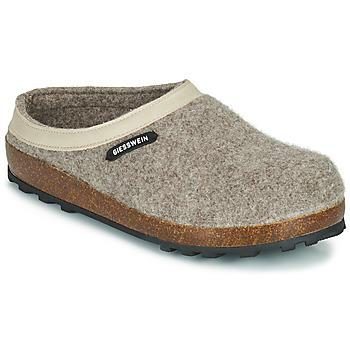 Zapatos Mujer Pantuflas Giesswein CHAMEREAU Beige