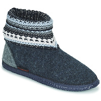 Zapatos Mujer Pantuflas Giesswein KIEL Marino