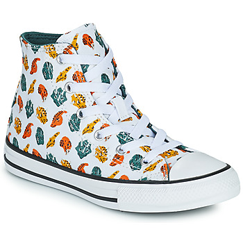Zapatos Niños Zapatillas altas Converse CHUCK TAYLOR ALL STAR DINO DAZE HI Blanco / Verde / Naranja