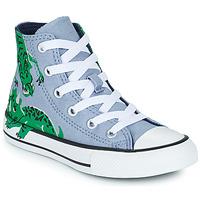 Zapatos Niños Zapatillas altas Converse CHUCK TAYLOR ALL STAR DINO DAZE HI Azul / Verde