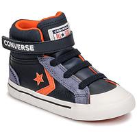 Zapatos Niños Zapatillas altas Converse PRO BLAZE STRAP LEATHER TWIST HI Azul