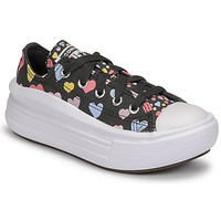 Zapatos Niña Zapatillas bajas Converse CHUCK TAYLOR ALL STAR MOVE ALWAYS ON HEARTS OX Negro / Multicolor