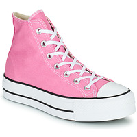 Zapatos Mujer Zapatillas altas Converse CHUCK TAYLOR ALL STAR LIFT SEASONAL COLOR HI Rosa