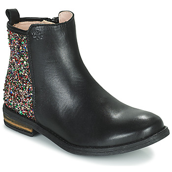 Zapatos Niña Botas de caña baja Acebo's 9917VE-NEGRO-T Negro
