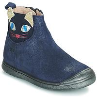 Zapatos Niña Botas de caña baja Acebo's 3159SU-MARINO Marino