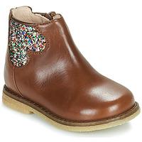 Zapatos Niña Botas de caña baja Acebo's 3202-CUERO-C Marrón