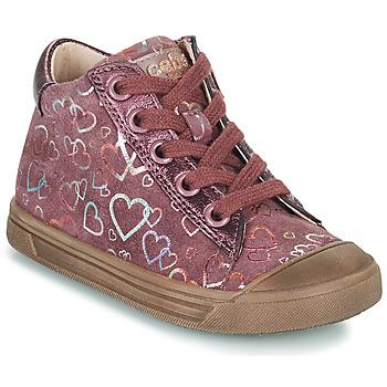 Zapatos Niña Zapatillas altas Acebo's 5533EL-GRANADA Rosa