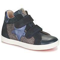 Zapatos Niña Zapatillas altas Acebo's 5541SX-MARINO Marino