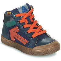 Zapatos Niño Zapatillas altas Acebo's 5567-MARINO-I Marino