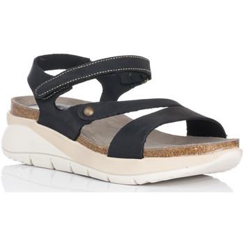 Zapatos Mujer Sandalias Interbios 6901 NEGRO