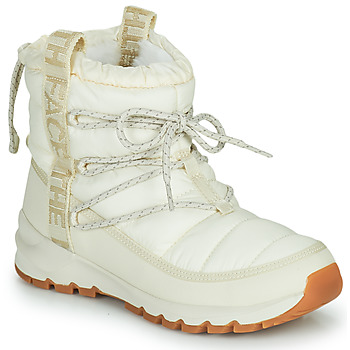 Zapatos Mujer Botas de nieve The North Face W THERMOBALL LACE UP Crudo