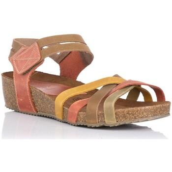 Zapatos Mujer Sandalias Interbios 5338 KAKI