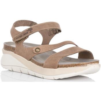 Zapatos Mujer Sandalias Interbios 6901 TAUPE