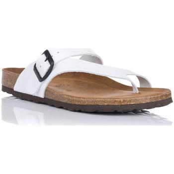 Zapatos Mujer Chanclas Interbios 7119 BLANCO