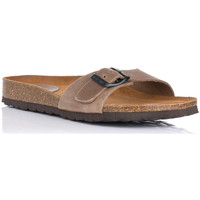 Zapatos Mujer Zuecos (Mules) Interbios 7111 TAUPE