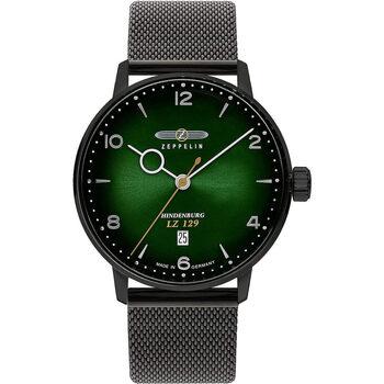 Relojes & Joyas Hombre Relojes analógicos Zeppelin 8048M-5, Quartz, 40mm, 5ATM Negro